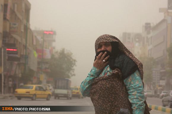 گردوغبار تا سه روز دیگر در زنجان ماندگار شد