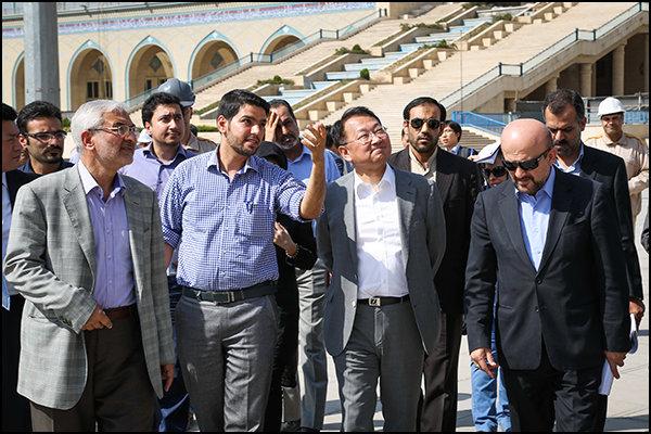 وزیر زمین، زیرساخت و حمل و نقل کره جنوبی از مصلی امام (ره) بازدید کرد