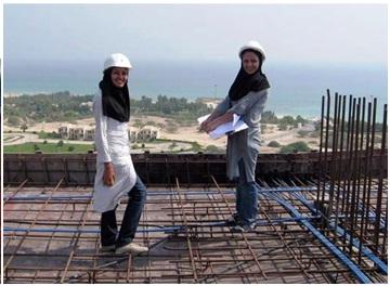 نقش زنان عضو جامعه مهندسی در حوزه ساخت و ساز غیرقابل انکار است