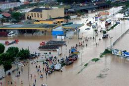 سیلاب به ۳۵ روستای گیلان خسارت وارد کرد 