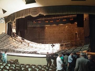 واکنش رحمانیان به وضعیت سالن اصلی تئاتر شهر