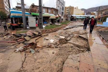 سیل به تاسیسات آب و فاضلاب ایلام بیش از ۸۵۰ میلیارد ریال خسارت زد