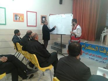 کارگاه آموزشی و مانور مدیریت بحران در حمیدیه