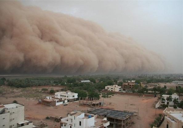 تاثیر گرد و غبار بر آب و هوا چیست؟