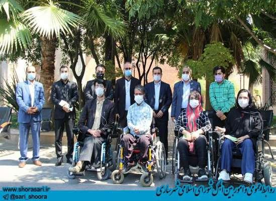شمشیربند: توجه مدیریت شهری به رفع نیازهای معلولان ضروری است