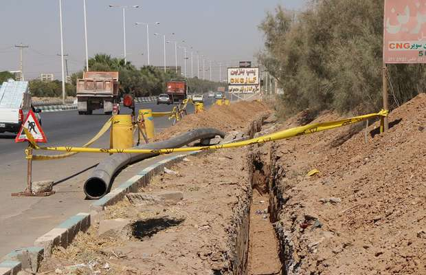 تکمیل پروژه خط انتقال پساب...