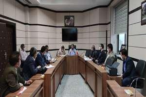 جلسه کمیسیون ماده 5 شهرهای آشخانه و فاروج یکشنبه 16 شهریور 99
