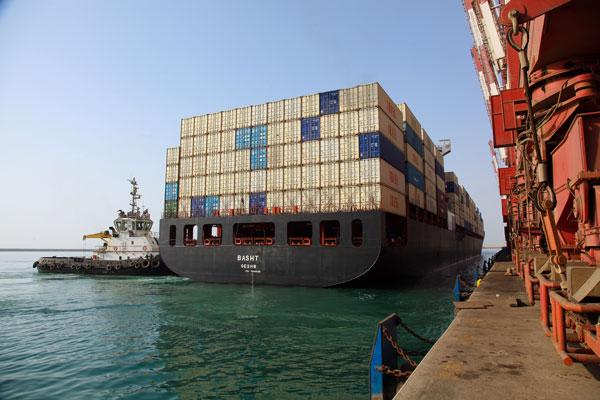 کشتیهای کانتینری ایران به اروپا میروند