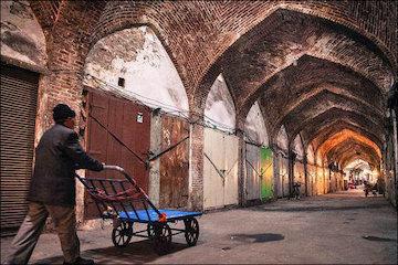 ارایه طرح مرمت و بازسازی حریم بازار تبریز توسط دانشگاه تهران