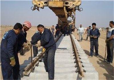 پیشرفت ۹۵ درصدی ساخت خط آهن قزوین – رشت/۸ کیلومتر تا افتتاح مسیر