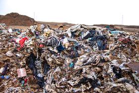 حریق خود به خودی زبالهها، مشکل زیستمحیطی کوهدشت