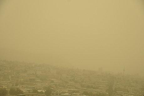 هوای اراک در شرایط ناسالم است