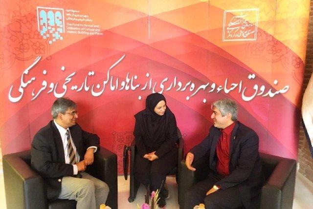 تلاشهای ایران برای مرمت بناهای تاریخی ارزشمند است