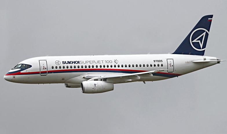 ورود هواپیمای مسافری سوخو ۱۰۰ به ناوگان هوایی روسیه