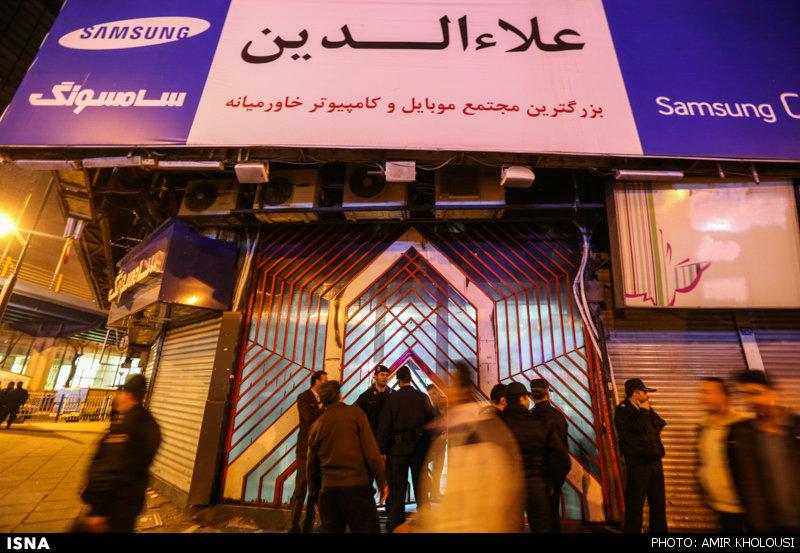مصوبه شورای تأمین برای تخریب طبقه هفتم پاساژ علاءالدین به منطقه ۱۱ ارسال شد