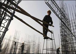 ۵۰ درصد حوادث کار در بخش ساختمان روی میدهد