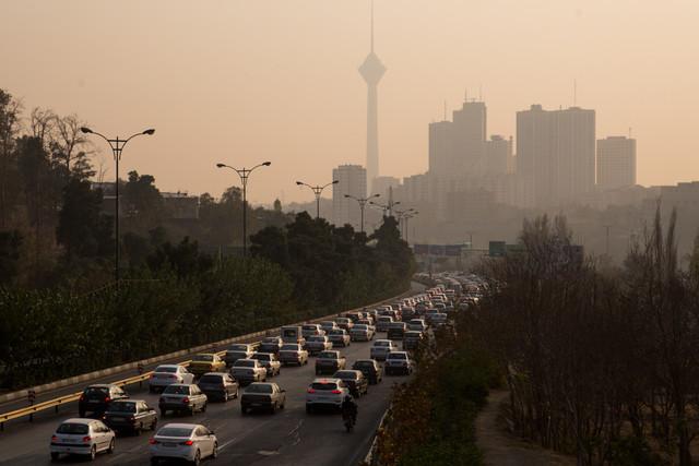 پیشبینی کاهش آلودگی هوای تهران
