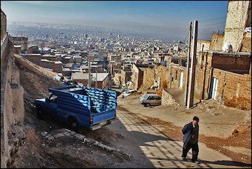 ۴۵۰۰ هکتار از اراضی حاشیه نشین تبریز به فضای سبز تبدیل میشود