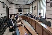 گزارش تصویری جلسه کمیسیون ماده 5 بجنورد 16 شهریور 99