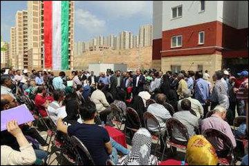 ۱۲۰۰ واحد مسکن مهر در فاز ۸ و ۹ پردیس افتتاح شد