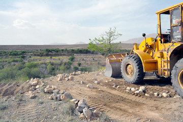 آزادسازی بیش از ۱۳ هزار مترمربع از اراضی ملی گیلان