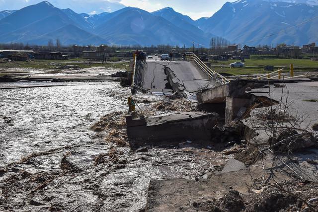 مسیرهای ارتباطی مناطق سیلزدهی آذربایجانشرقی باز است