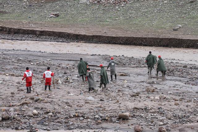 اثری از مفقودان سیل شهرستان لردگان نیست