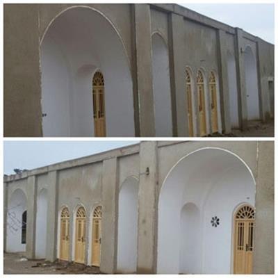 مرمت عمارت تاریخی طاهری دامغان