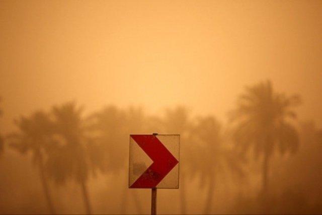 گرد و غبار در شادگان بیش از ۱۱ برابر حد مجاز