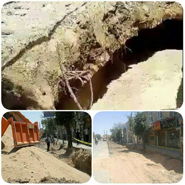 سازه قدیمی بدست آمده در زیر خیابان قیام یزد چه بود؟