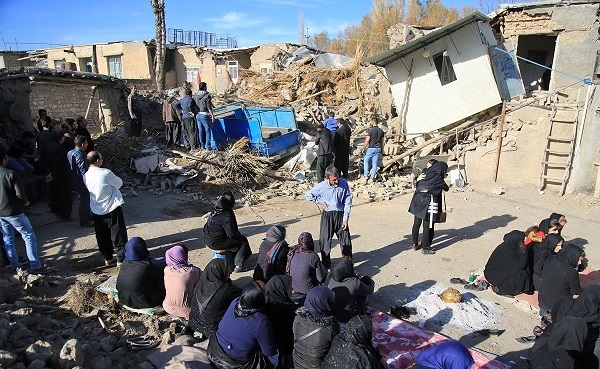 شمایل یک شهر زلزلهزده