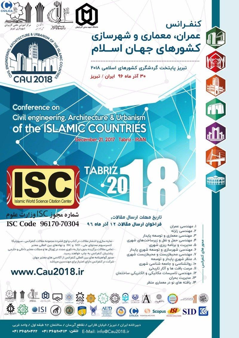 کنفرانس عمران,معماری و شهرسازی کشورهای جهان اسلام