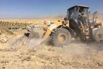 رفع تصرف ۲۰ هکتار از اراضی ملی فیروزکوه به ارزش بیش از ۱۰۰۰ میلیارد ریال