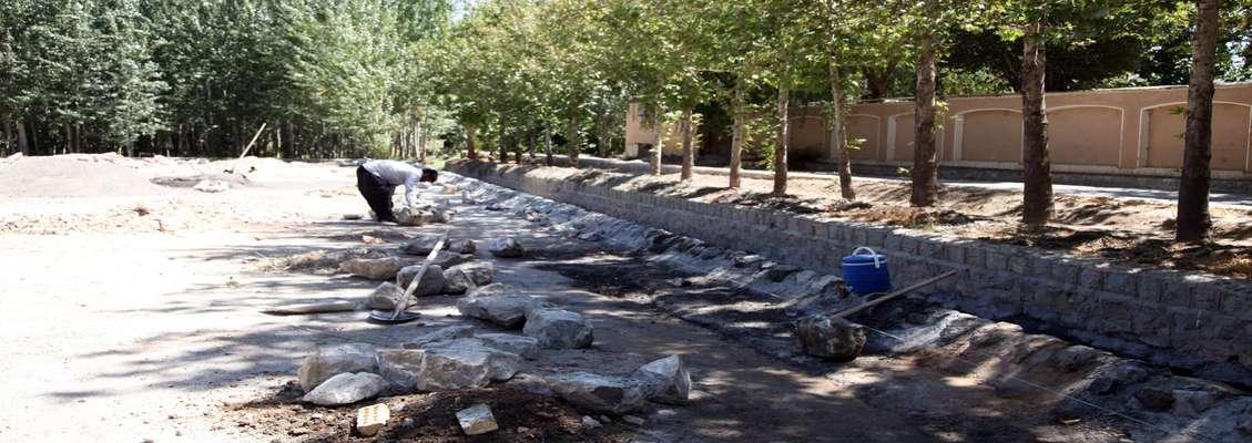 پروژه بهسازی پارک ساحلی سرارود آغاز شد