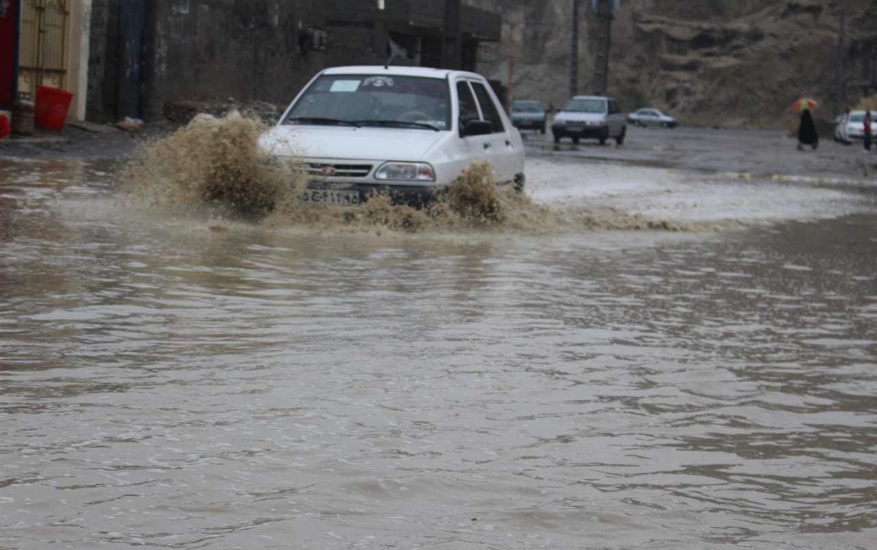 اخطار سازمان هواشناسی نسبت به آبگرفتگی معابر