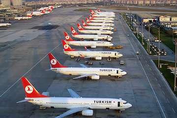 ابهام در برقراری پرواز ترکیش ایر به ایران در ۱۱ مهر/ نرخ بلیط سفر به ترکیه با قطر ایرلاین از ۶۰ تا ۷۰ میلیون تومان