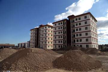 ساخت۵۴ هزار واحد مسکن ملی شروع شده است