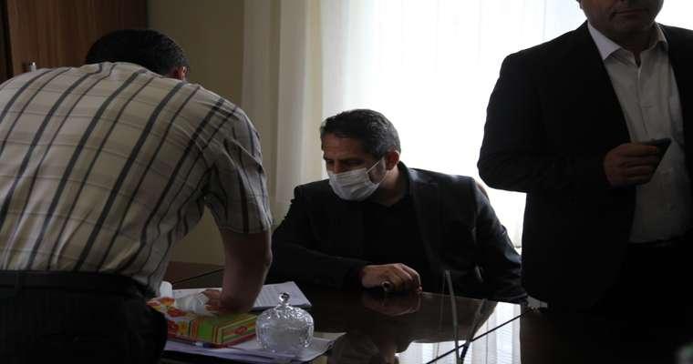 بازدید سرزده شهردار تبریز از شهرداری منطقه ۸