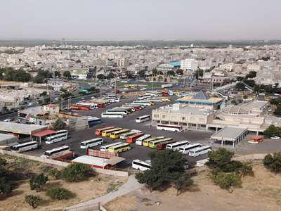تجهیز پایانه آزادگان قزوین به فیبر نوری