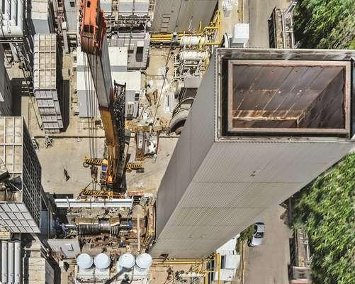 اتمام عملیات بازسازی قطعات داغ نیروگاه ری همزمان با آغاز تعمیرات پیشگیرانه و برنامه ریزی شده