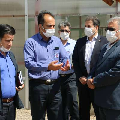 بازدید معاون راهبری تولید شرکت مادر تخصصی توليد نيروی برق حرارتی از نیروگاه شهید مفتح