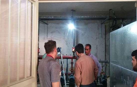 امیرحمزه زارعزاده شهردار مهریز از ساختمان جدید شهرداری بازدید کرد