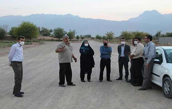 بازدید شهردار و اعضای شورای اسلامی شهر مهریز از پروژه بلوار شهید سردار سلیمانی