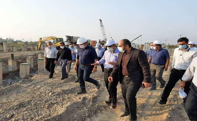 واحد گاز نیروگاه کلاس F ویس در خوزستان وارد مدار میشود/ افزایش تعداد کارگران بومی شاغل در کارگاه ساخت نیروگاه
