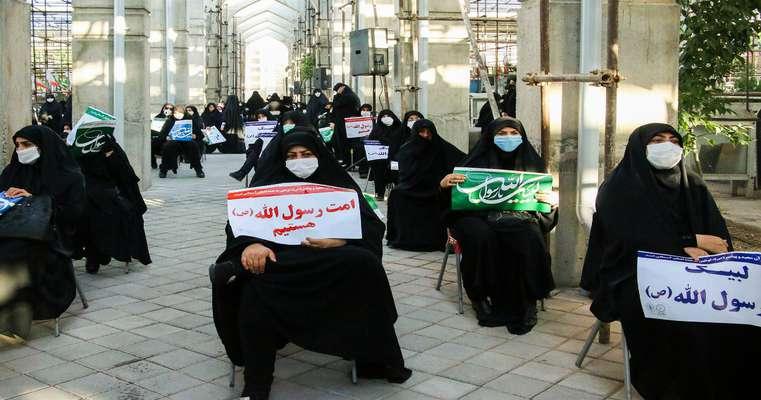 تجمع تبریزیها در محکومیت اهانت نشریه فرانسوی به ساحت مقدس پیامبر(ص)
