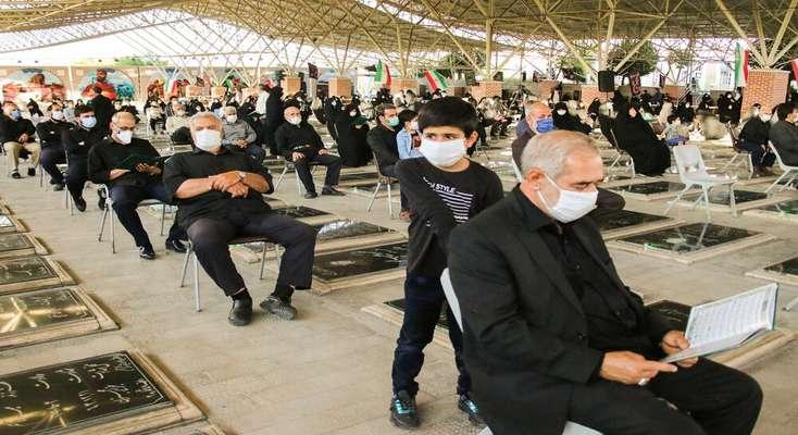 آیین چهلمین روز درگذشت همسر شهید تجلایی برگزار شد