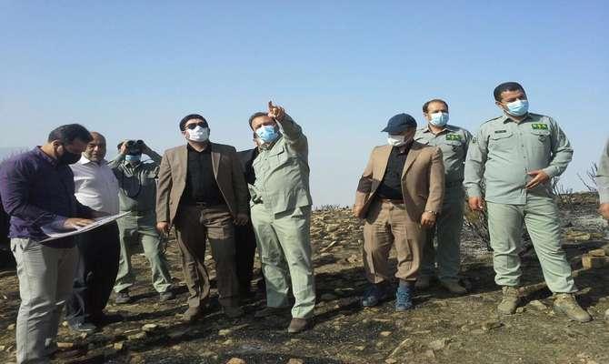 دادستان قزوین به آتش سوزی ۸۰۰ هکتاری منطقه لات الموت غربی ورود پیدا کرد