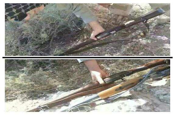 کشف ۲ قبضه اسلحه شکاری در مهران
