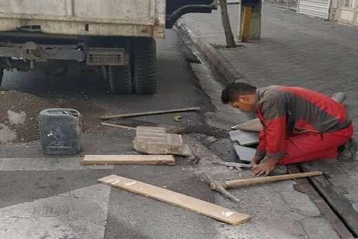 طرح ساماندهی کانیووها و ترمیم پلهای مسیرخطوط عابران پیاده