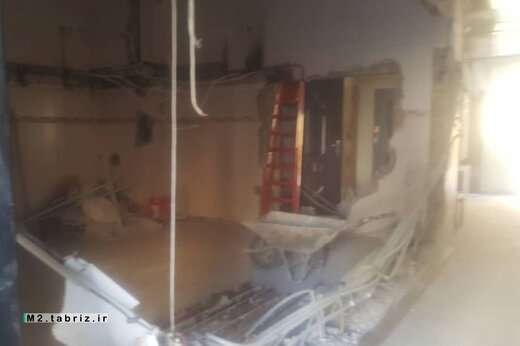 تخریب  واحد مسکونی غیرمجاز در شهرک میرداماد